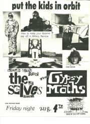 Gyspsy Moths The Selves Flyer